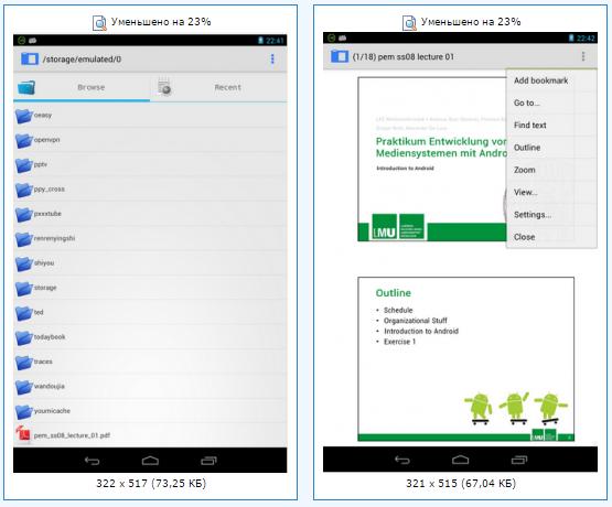 djvu to pdf converter android