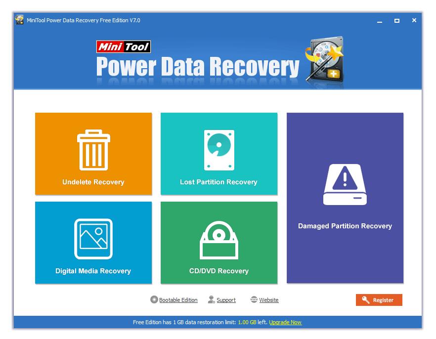 Power data recovery инструкция