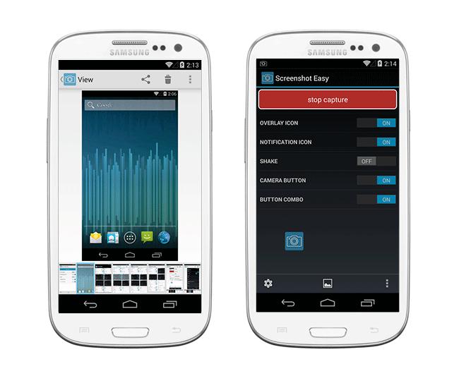 сохраняем скриншот - снимок экрана под Андроид