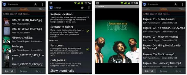 как восстановить удалённое видео на андроиде - фото 10