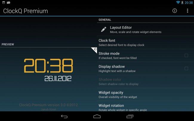 Скачать виджеты часов для андроида